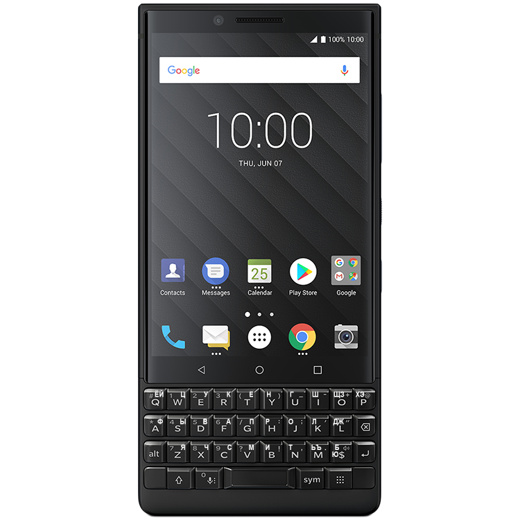 BlackBerry KEY2 Black 2SIM 128GB (РСТ)