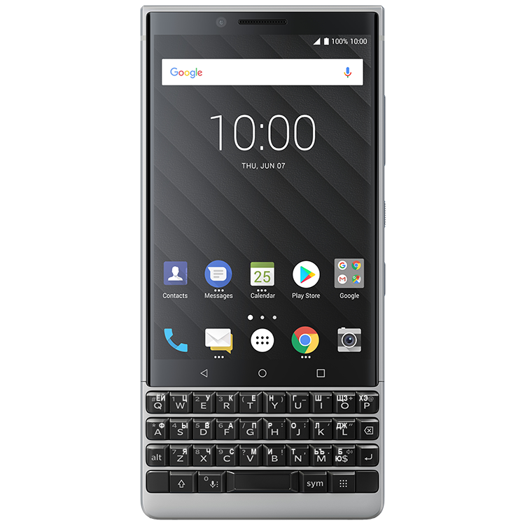 BlackBerry KEY2 Silver 2SIM 64GB