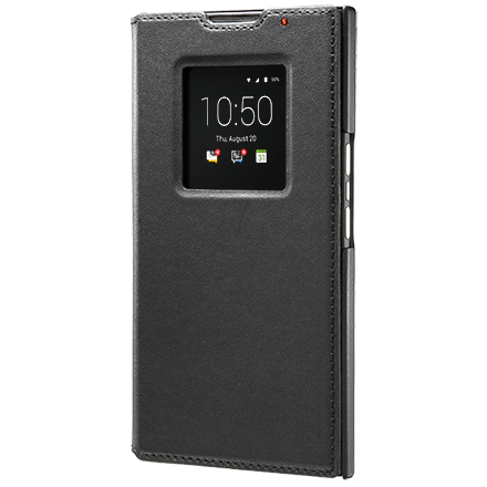 Чехол BlackBerry PRIV Leather Smart Flip Case, Black