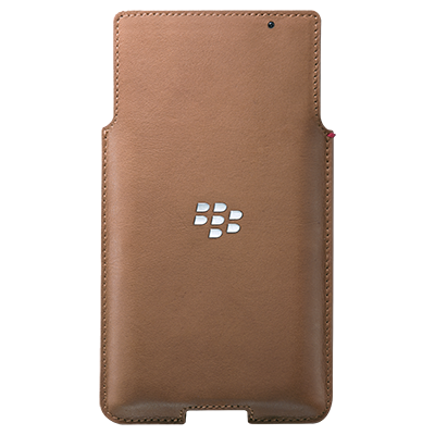 Чехол BlackBerry PRIV Leather Pocket, Tan
