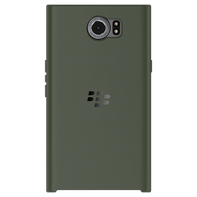 Чехол BlackBerry PRIV Slide-Out Hard Shell, Military Green