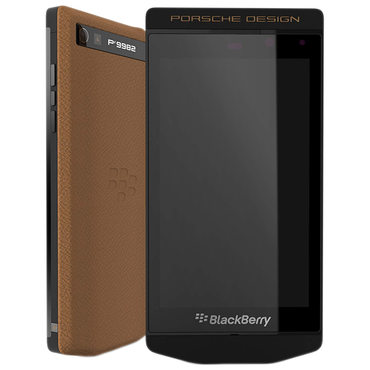 BlackBerry P'9982 Porsche Design Cognac