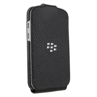 Чехол BlackBerry Q10 Leather Flip Shell Black