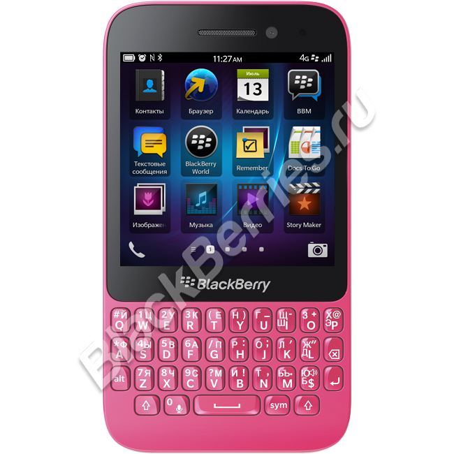 BlackBerry Q5 4G Pink
