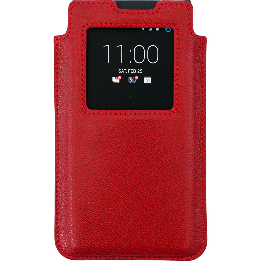 BlackBerry KEYone Leather Smart Case красный