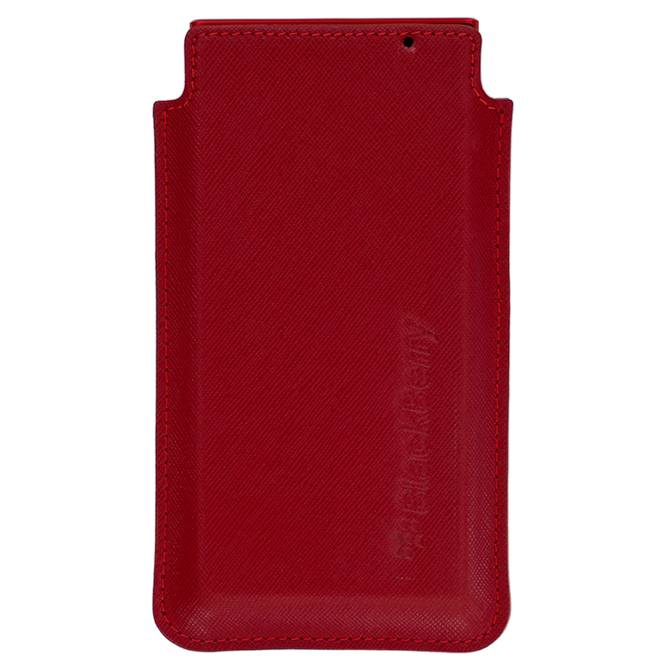 BlackBerry KEY2 LE Pocket Saffiano leather RED