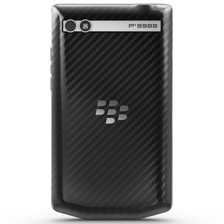 BlackBerry P'9983 Porsche Design Cover Carbon