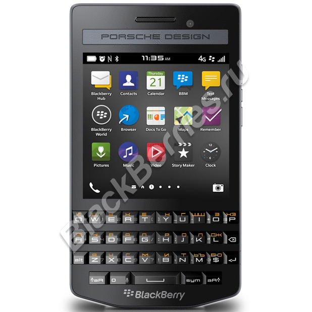 BlackBerry P'9983 Porsche Design Graphite
