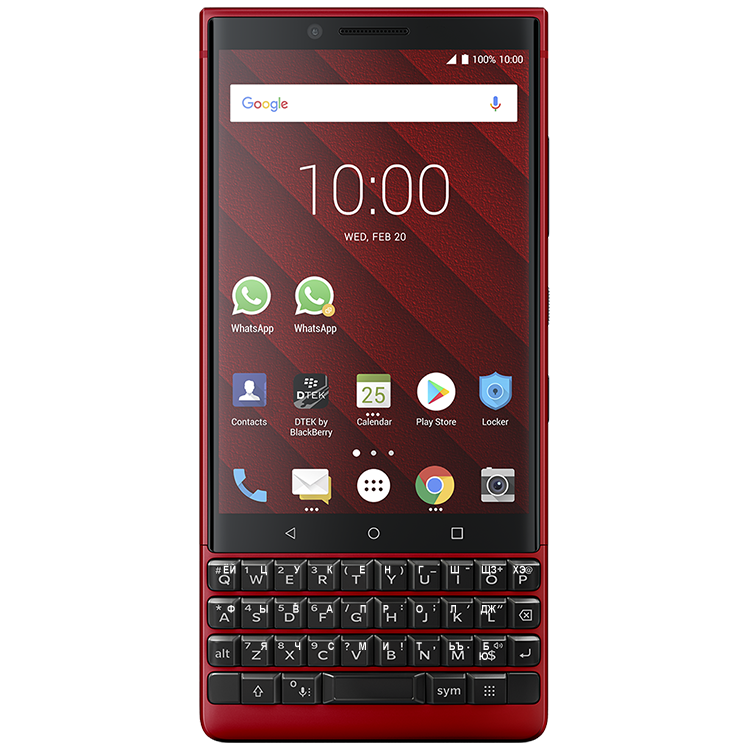 BlackBerry KEY2 Red Edition 2SIM 128GB