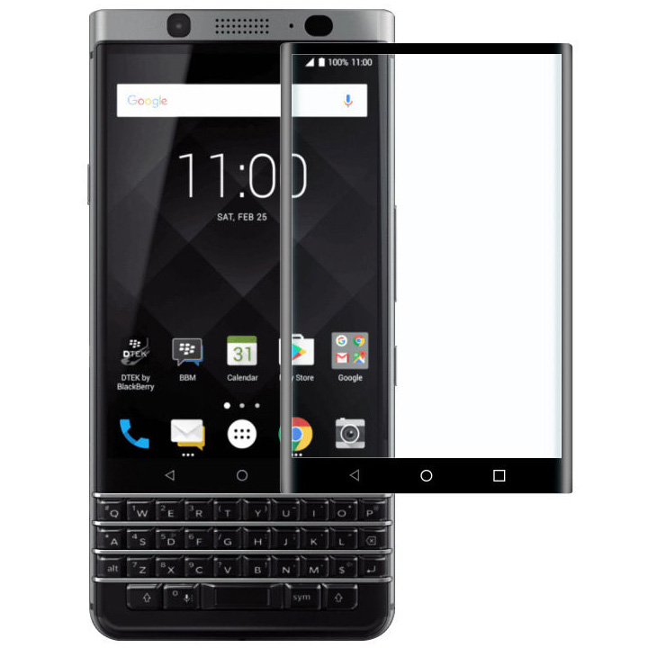 Защитное 3D стекло Sikai для BlackBerry KEYone