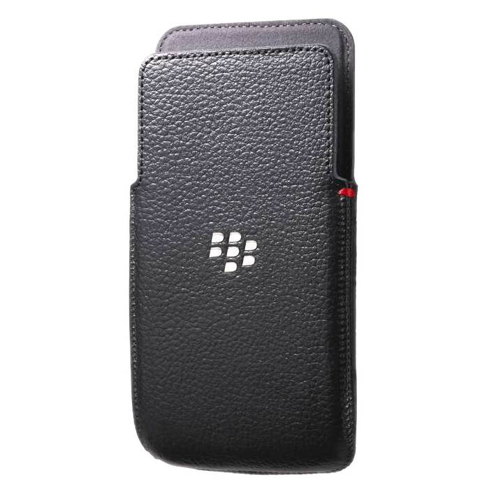 Чехол BlackBerry Z30 Leather Pocket Black