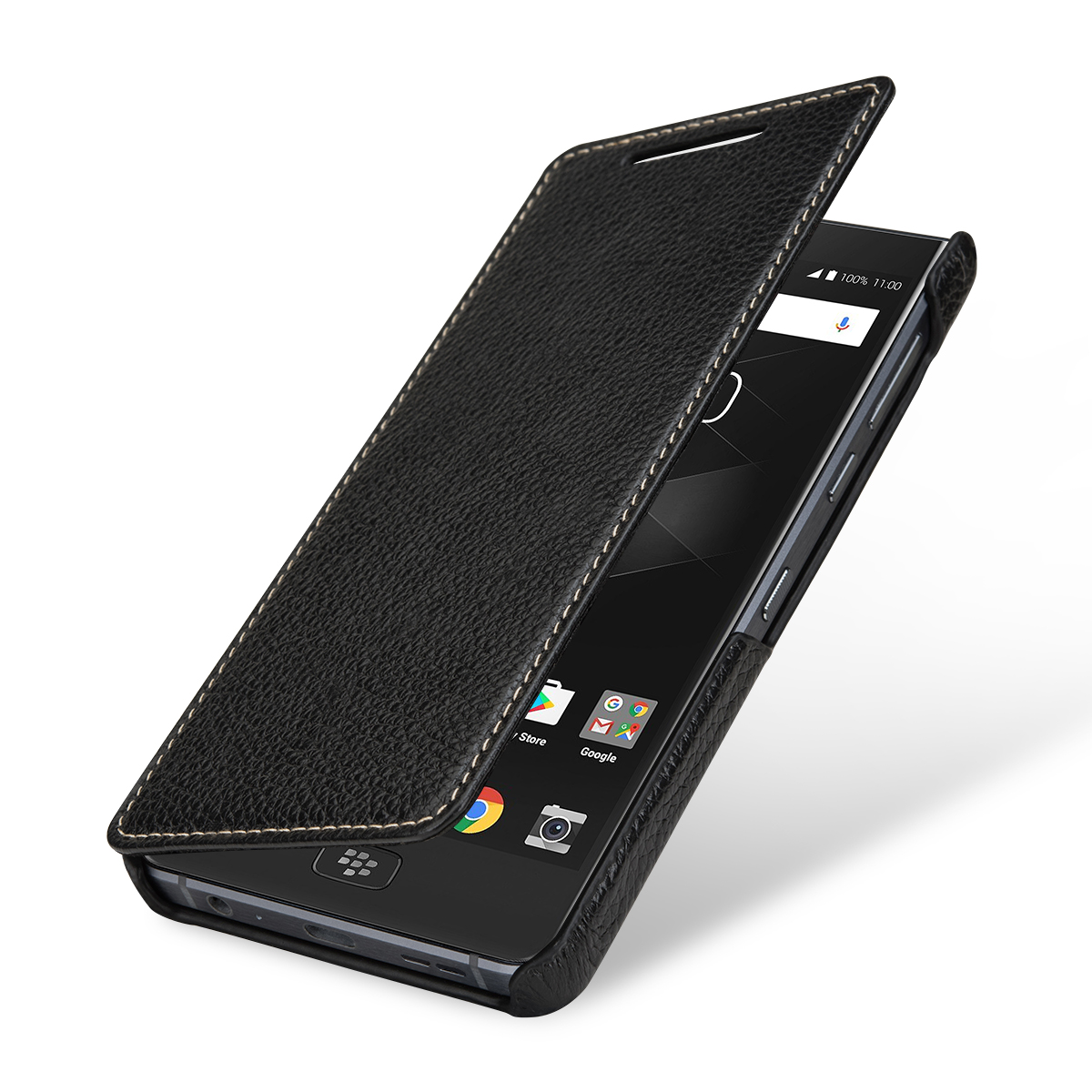 StilGut BlackBerry Motion Cover Book Type Black