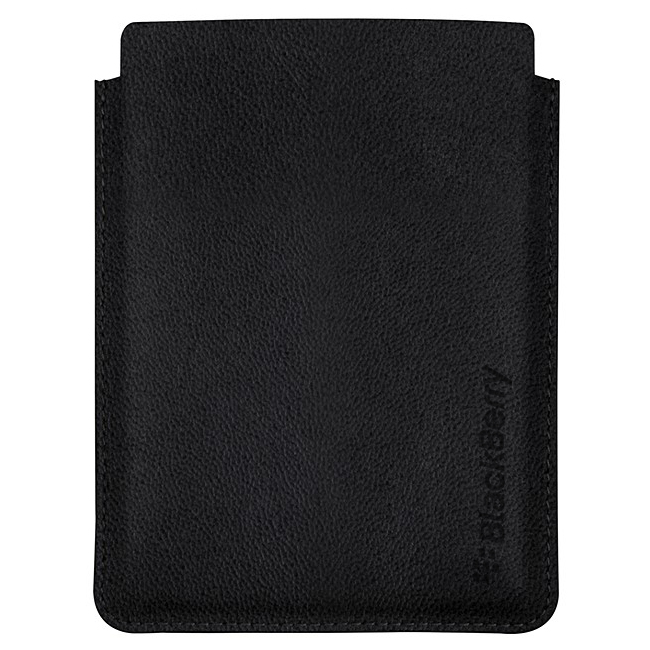 BlackBerry Passport Leather Sleeve Case Black