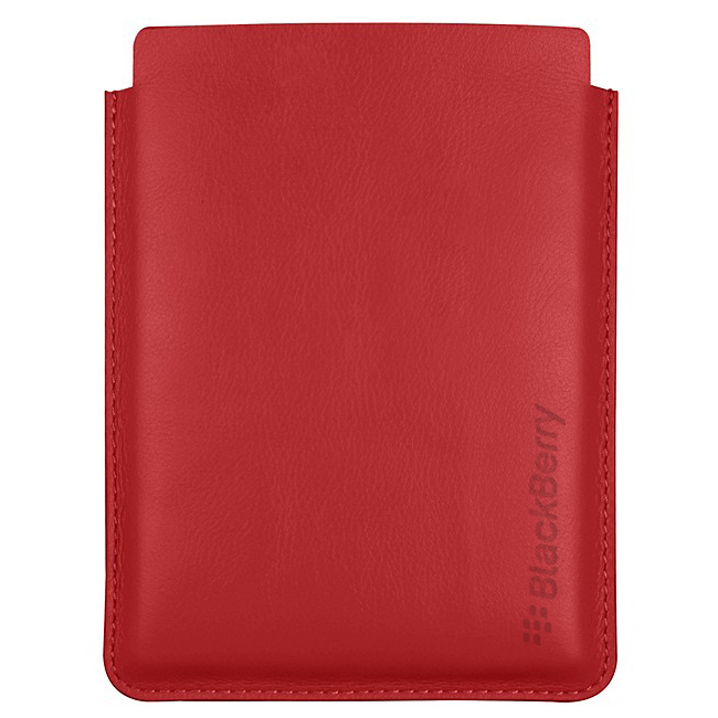 BlackBerry Passport Leather Sleeve Case Red
